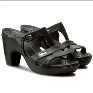 Crocs Cypress V Heel Sandals